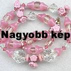 Rózsaszín nyaklánc