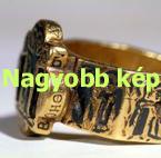 Nielló díszítésű gyűrű