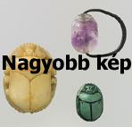 Szkarabeusz amulettek