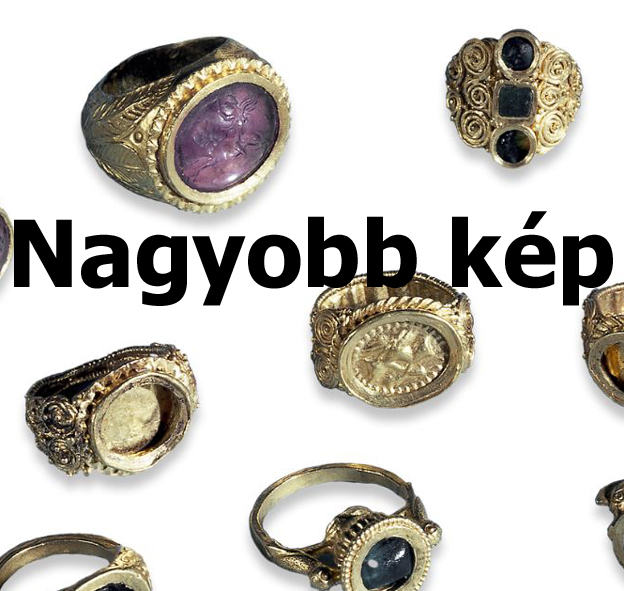 Római kori gyűrűk
